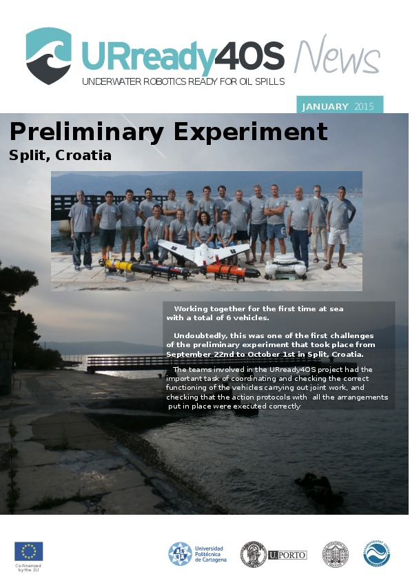 "Second Bulletin ""Preliminary experiment"""